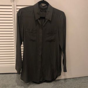 Madewell silk top